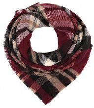 Pieces PCJENIFFERSQUARE SCARF Foulard black