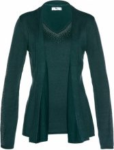 Cardigan effetto 2 in 1 (Verde) - bpc selection