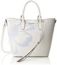 Bulaggi Faye City Bag - Borse a secchiello Donna, Weiß, 12x27x25 cm (B x H T)
