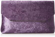 Bulaggi Lanny Clutch - Pochette da giorno Donna, Violett, 04x17x28 cm (B x H T)