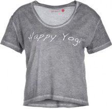 Yogasearcher TATTWA Tshirt con stampa carbon