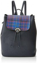 Tommy Hilfiger Effortless Novelty Backpack Print, Zaino Donna, Multicolore (Tommy Navy/ Tartan), 5x20x16 cm (W x H x L)