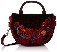 Irregular Choice Casa Blanka Bag - Borse a mano Donna, Red, 11x18x25 cm (W x H L)