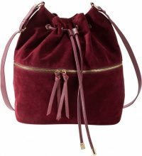 Borsa a sacchetto con tasca esterna (Rosso) - bpc bonprix collection