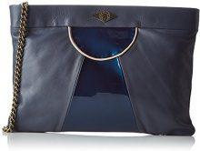 MohekannXl Narowe - Pochette Donna , blu (Bleu (Rose Blush)), 8x25x35 cm (W x H x L)