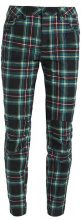 GStar PHARRELL WILLIAMS ELWOOD X25 3D BOYFRIEND Pantaloni black/bright billet green check