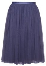 Needle & Thread TULLE MIDI SKIRT Gonna a campana washed indigo
