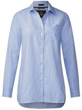 Street One Oxford Stripe Blouse, Blusa Donna, Blau (Sailing Blue 20763), 46