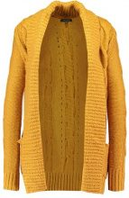 New Look CABLE Cardigan ochre