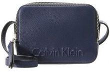 Calvin Klein EDGE SMALL  Borsa a tracolla blue