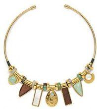 Lizzie Fortunato, collana di 91cm, colore azzurro mare