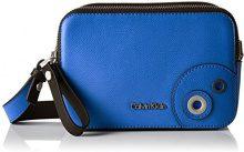 Calvin Klein JULIENN3 Micro Crossbody, Sacchetto Donna, Blu (Dazzling Blue), 7 x 12 x 18 cm (b x h x t)