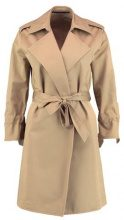 AllSaints RILEY MAC Trench sand brown