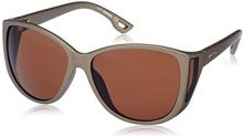 Diesel - Occhiali da sole DL0005 Wayfarer, Marrone (Semi Shiny Kakki / Gradient Brown)