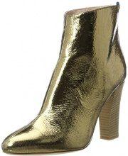 SJP by Sarah Jessica Parker Minnie, Stivali Donna, Oro (Gold Crackle Metallic), 37 EU