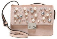 Missguided PEARL DETAIL CROSS BODY BAG Borsa a tracolla pink