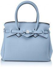 Save My Bag Miss, Borsa a Mano Donna, Turchese (Zaffiro), 34x29x18 cm (W x H x L)