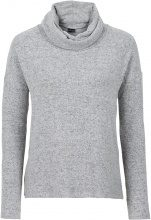 Pullover soffice a collo alto (Grigio) - BODYFLIRT