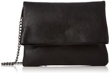 PIECES Pcravin Cross Body - Borse a tracolla Donna, Schwarz (Black), 1x22x27 cm (B x H T)