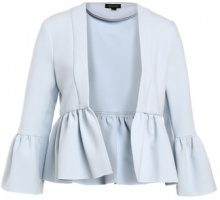 Topshop BELLA CROP Blazer light blue