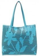 Shopping bag - aqua