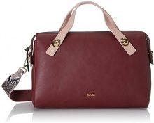 Gaudì Top Handle Bag Linea Angelica, Borsa a Mano Donna, Rosso (Bordeaux), 35x23x14 cm (W x H x L)