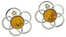Nova Silver - Orecchini, Pietre semi-preziose, Argento Sterling 925