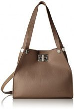 Bags4Less Gloria - Borse a spalla Donna, Braun (Taupe), 11x27x31 cm (B x H T)