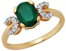 Ivy Gems Donna  925  argento Rotonda   verde Calcedonia