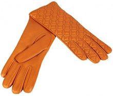 Merola Gloves Flower, Guanti Donna, Arancione (Mandarine), Medium (Taglia Produttore:7.5)