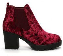 Chelsea boots di velluto