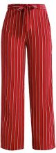 ONLY ONLNOVA LUX PALAZZO PANT  Pantaloni red