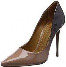 Moda In PelleCristina - Scarpe con Tacco donna , beige (Beige (Beige)), 41