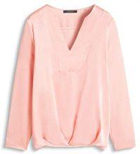 ESPRIT Collection dezente Glanz-Optik, Camicia Donna, Arancione (SALMON 860), S (Taglia Produttore: S)