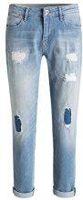 edc by ESPRIT 076cc1b029, Jeans Donna, Blu (Blue Light Wash), W26/L34 (Taglia Produttore: 26/34)