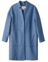 Cappotto oversize 40% lana cotta