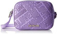 Love Moschino JC4031, Borse a Tracolla Donna, Viola (Lavender), 7x13x18 cm (B x H x T)