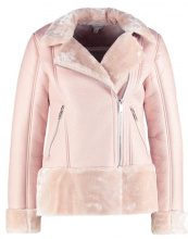 Miss Selfridge SHEARLING BIKER  Giacca in similpelle taupe/beige
