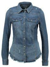 ONLY ONLWENDY FITTED  Camicia dark blue denim