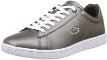 Lacoste Carnaby Evo, Sneaker Donna, Nero (Blk), 39.5 EU