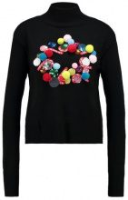 Topshop XMAS WREATH JUMPER Maglione black