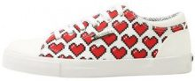 Love Moschino HEART CUPSOLE Sneakers basse white