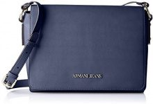 Armani Jeans 922578cc864, Borsa Donna, Blu (NOTTE 02836), 8x20x28 cm