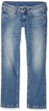 Pepe Jeans Banji, Jeans Donna, Blu (Denim GA6), W28/L34