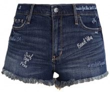 Hollister Co. Shorts di jeans darkblue denim