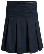 ESPRIT Collection - Faltenrock 995Eo1D902, Gonna a pieghe da donna, Blu (DARK NAVY 420), 44