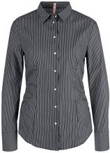 Marc Cain Additions HA 51.07 W04, Camicia Donna, Mehrfarbig (Black and White 910), 46