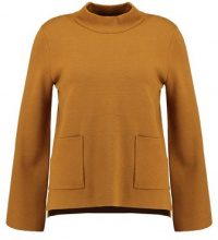 Selected Femme SFINETTA HIGHNECK  Maglione golden brown