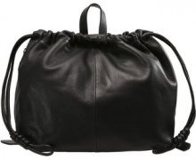 Topshop DRAWSTRING Shopping bag black