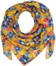 Hilfiger Denim Thdw Scarf 15, Sciarpa Donna, Multicolore (Pinto Print/Marigold), Taglia unica (Taglia Produttore: OS)